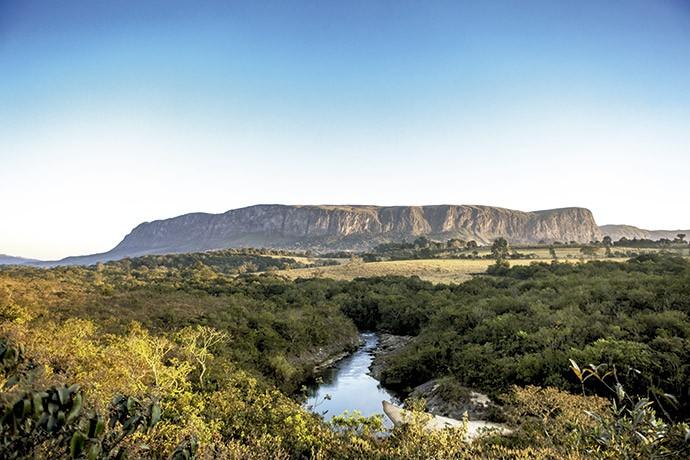 Ainda no Sul de Minas, fica o Parque Nacional da Serra da Canastra, criado em 1972.